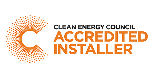 Clean Energy Council Accredited Installer Logo - P4B Solar - Adelaide