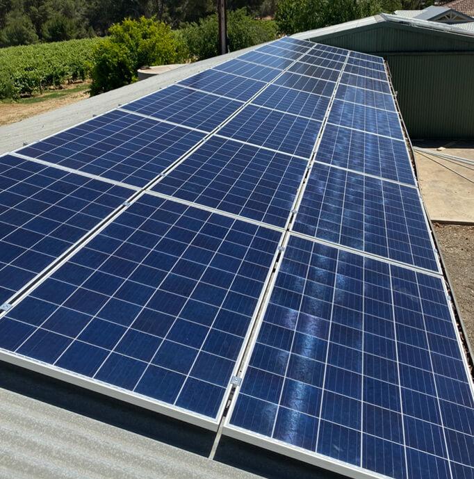 Adelaide Residential Solar Install - P4B Soalr